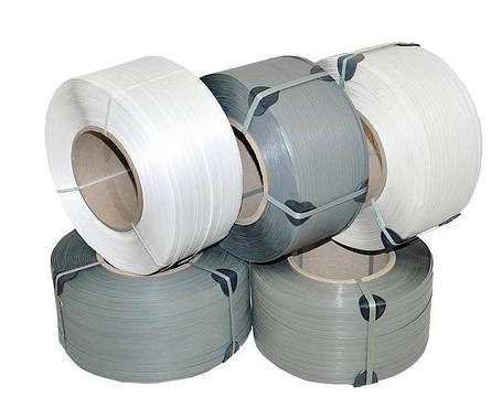 Упаковочная лента полипропиленовая 9 × 0,55 мм - 4 км белая, фото 2
