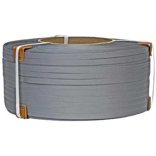 Лента упаковочная полипропиленовая 19 мм х 0.9 мм х 1000 м ( серая )