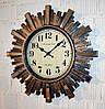 Настенные часы с зеркальными элементами (50 см.)