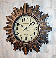 Настенные часы с зеркальными элементами (50 см.), фото 1