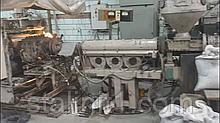 Линия для производства полимерных листов на базе ЧП63Х32, головка плоскощелевая шириной 600 мм