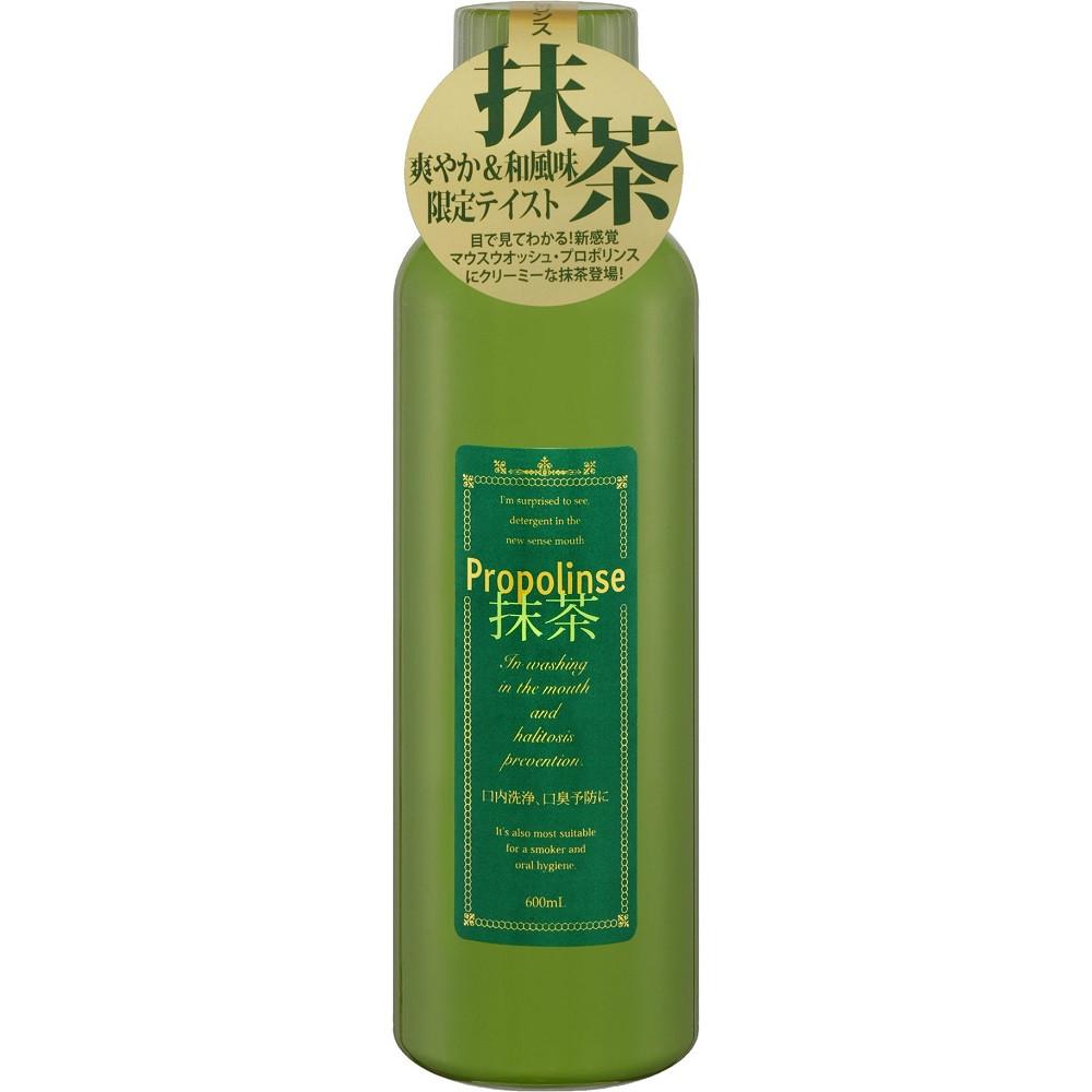 PROPOLINSE эликсир для зубов с прополисом, экстрактом зеленого чая, с ароматом чая маття, 600 мл