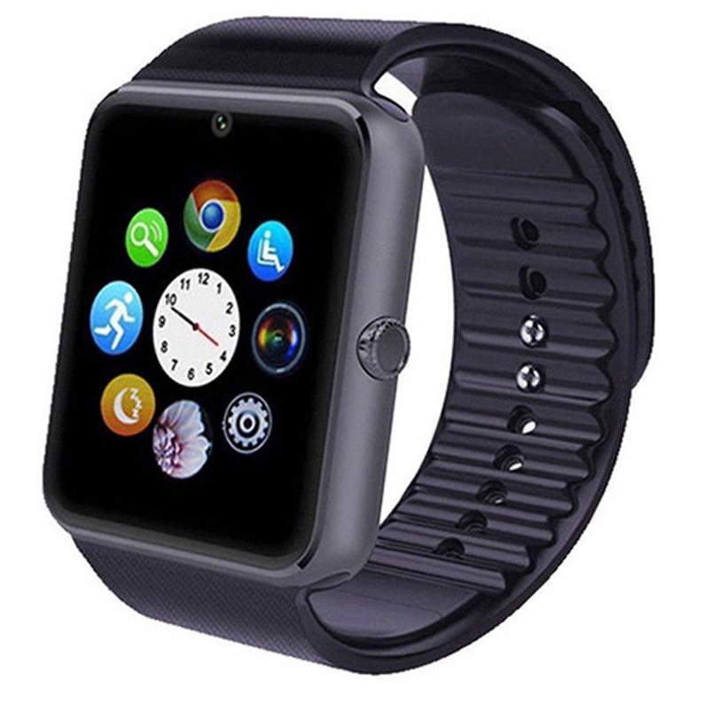 Smart часы GT08 + камера, black