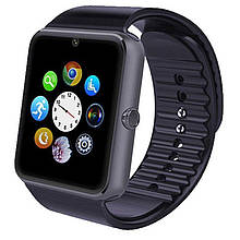 Смарт часы Smart Watch GT08, Sim card + камера, black