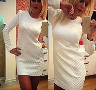 "Платье белое мини ""Лайн"""