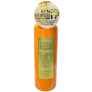 PROPOLINSE еліксир для зубів з прополісом, екстрактом зеленого чаю без спирту, 600 мл