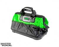 MasterTool Сумка для инструментов 460*250*300 мм, 1680 DEN, 8 карманов, пластиковое дно, Арт.: 79-1918