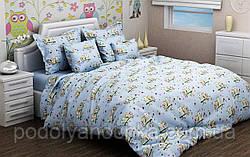 """Комплект в дитяче ліжечко з бязі голд """"Сови"""""""