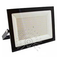 Прожектор світлодіодний LED 100w 6500K IP65 6750LM Посейдон чорний вуличний / LMP73-100, фото 1