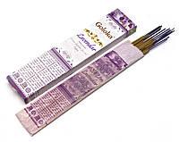 Натуральные аромапалочки Lavendar (Лаванда)(15 gms) (Goloka) пыльцовое благовоние