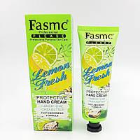 FASMC защитный увлажняющий крем для рук LEMON FRESH Protective лимон, лайм 80мл