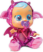 Cry Babies Інтерактивна лялька пупс Плаче немовля Бруні Дракон