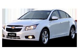Дефлекторы на боковые стекла (Ветровики) для Chevrolet (Шевроле) Cruze 2008-2015