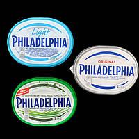 Сирний крем Philadelphia Original/Light/ із зеленню 125g