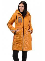 Зимовий, злегка приталені молодіжне пальто