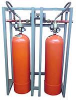Модуль газового пожаротушения МГП-2-60Р коллектор DN32