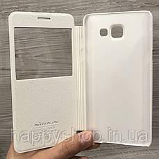 Чехол-книжка с окошком Nillkin для Samsung Galaxy A5 2016 (SM-A510) Белый, фото 2