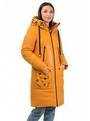 Тепле молодіжне, злегка приталені зимове пальто. Різні кольори