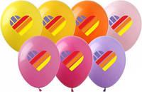 """Кульки 12"""" (30см) """"Лайк/Like"""" повітряні з малюнком поштучно (асорті)"""