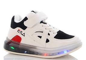 Кросівки демі із лед світлом розмір 28-18,0 см стелька