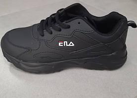 Кросівки для хлопчиків чорні розмір:40,41