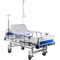 Кровать многофункциональная  4-х секционная HBM-2SM с антибактериальным покрытием с матрасом и аксессуарами