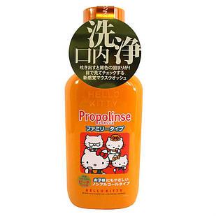 PROPOLINSE еліксир для зубів з прополісом, екстрактом зеленого чаю для дітей та всієї сім'ї, 400 мл