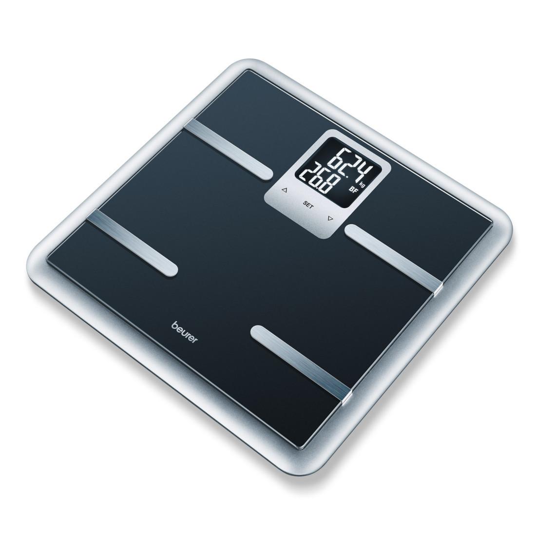 Beurer BG 40 Black - диагностические весы для ванной с анализом состава тела