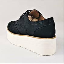 Женские Туфли Черные Кроссовки Слипоны Мокасины (размеры: 37,38,39,40,41), фото 2