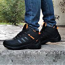 Зимние Кроссовки ADIDAS TERREX с МЕХОМ Черные Мужские Ботинки Адидас (размеры: 42,43,45,46)ВидеоОбзор, фото 3