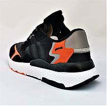 Кроссовки Мужские Adidas Runner Boost Чёрные Адидас (размеры: 41,42,43,44,45,46) Видео Обзор, фото 3
