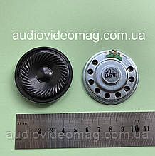 Динамик, сопротивление Ω 50 Ом, 0.5 Вт, диаметр 50 мм, металлический корпус