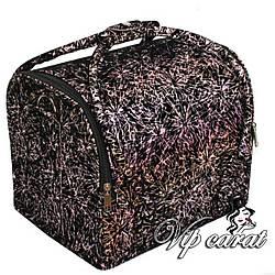 Профессиональный кейс для косметики, сумка для визажиста, мастера маникюра / кейс для візажиста
