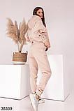 Женский теплый спортивный костюм с капюшоном р. 42-44, 46-48, фото 3