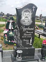 """Фігурний пам""""ятник з квітами купить №03"""