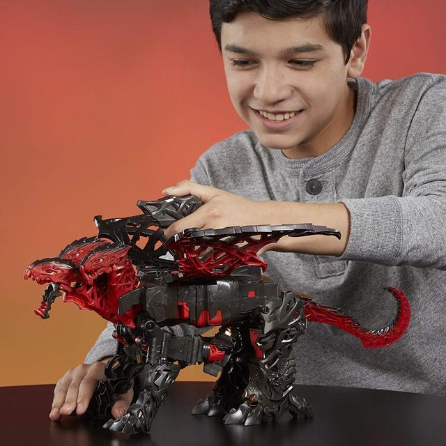 Transformers: Turbo Changer Dragonstorm Робот-трансформер Дракон Драгоншторм (Дрейгонстор Hasbro C0934 Хасбро)