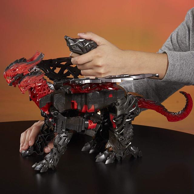 Трансформер Дракон Драгоншторм Hasbro Хасбро Transformers: Turbo Changer Dragonstorm C0934