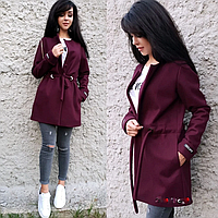Кардиган пальто плотный кашемир MR685
