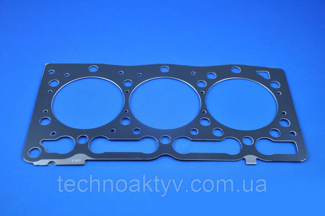 Прокладка головки блока цилиндров двигателя KUBOTA D1105 металлическая