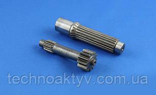 Комплект валів редуктора і гідромотора для міні-екскаваторів YANMAR KUBOTA BOBCAT
