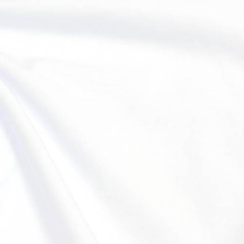 кулир с лайкрой белый