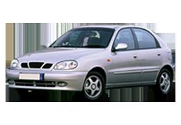 Коврик в багажник для Daewoo (Дэу) Lanos 1997+