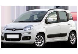 Коврик в багажник для Fiat (Фиат) Panda 2 2003-2012