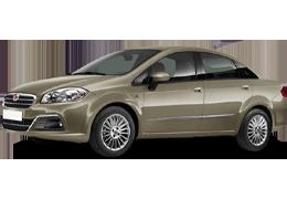 Коврик в багажник для Fiat (Фиат) Linea 2007-2015