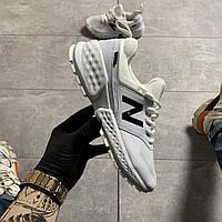 New Balance 574 White Leather (Белый), фото 1