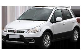 Коврик в багажник для Fiat (Фиат) Sedici 2005-2014