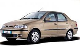 Коврик в багажник для Fiat (Фиат) Albea/Siena 2002-2012