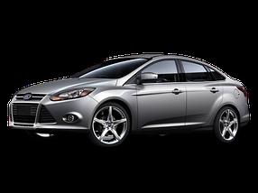 Коврик в багажник для Ford (Форд) Focus 3 2011-2018