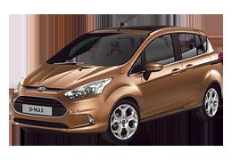 Коврик в багажник для Ford (Форд) B-max 2012-2017