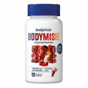 Bodymax Bodymisie, Витамины мармеладки для детей от 3 лет и взрослых, со вкусом колы, 60 штук